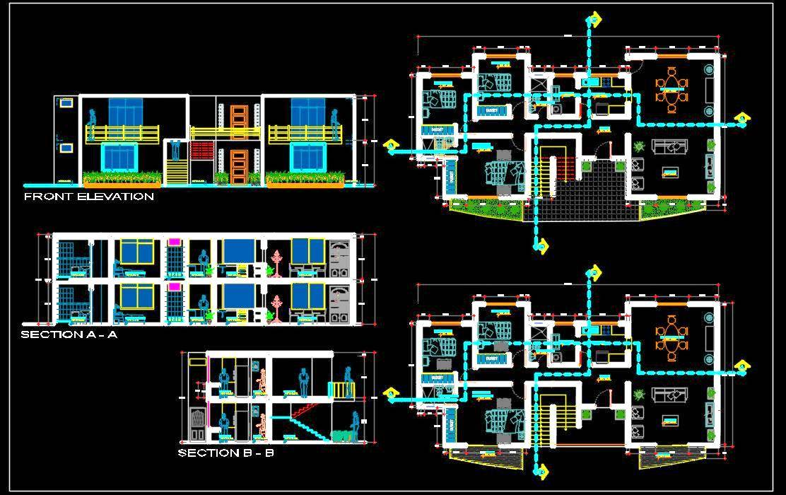 Architectural DWG(Plans)