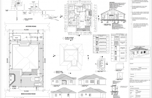 Structural – 2D Drafting and Detailing Services